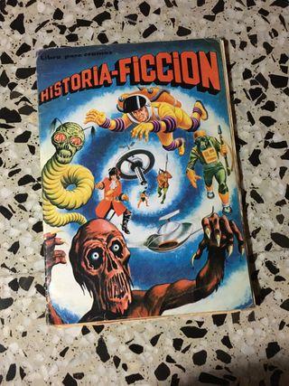 Álbum de cromos historia -ficción