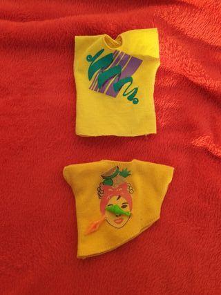 Camisas Jem y Sindy ( barbie )