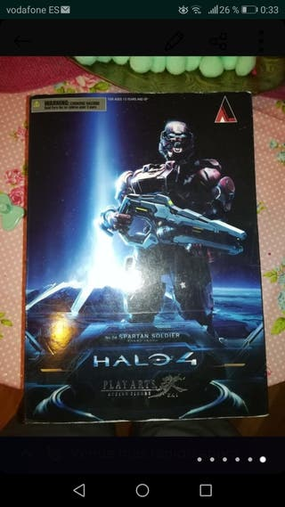 Halo 4 - Figura Play Arts Kai: N°4 Spartan Soldier