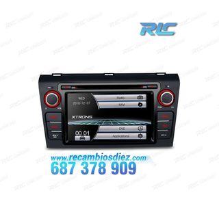 """Radio DVD GPS pantalla táctil 7"""" para Mazda 3 con"""