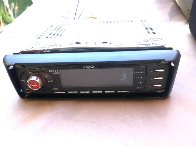 Radio cd de coche VDO