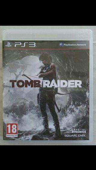 videojuego tomraider ps3
