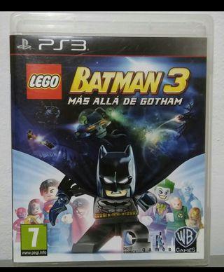 videojuego batman lego ps3