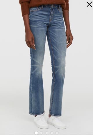 Vaqueros Mujer bootcut jeans.