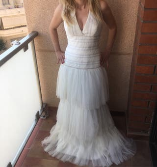 edfa56243c Falda de novia de tul de segunda mano en la provincia de Barcelona ...