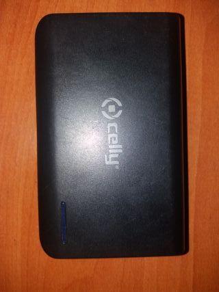 bateria externa power bank out-5V1A/5V2.1A in 5V