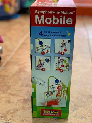 Mobile estimulación bebé para cuna