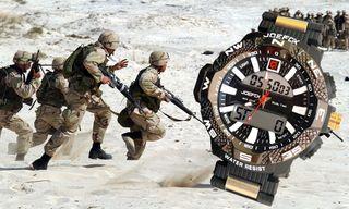 Reloj rudo todoterreno de calidad