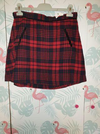 falda de cuatros