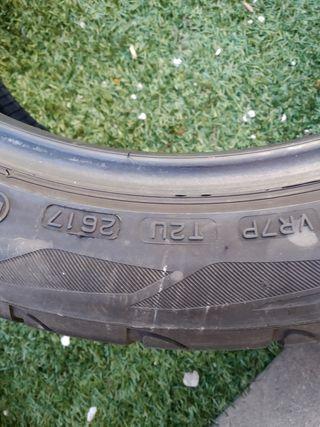 2 neumáticos 205/50/17