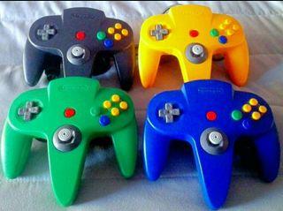 Mandos ORIGINALES Nintendo 64