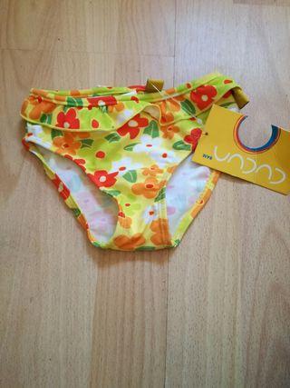 bikini niña talla 1 nuevo con etiqueta