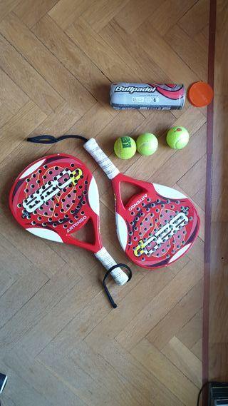 2 Raquetas de Paddel