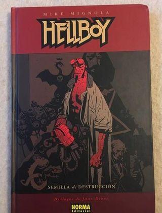 Hellboy Semilla de Destrucción Tapa Dura