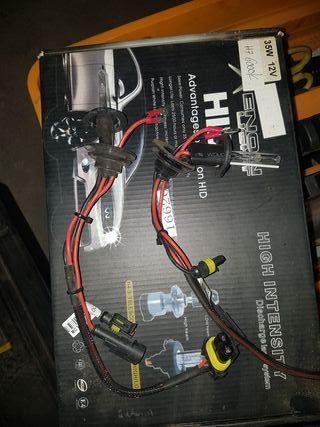 Xenón 6000k solo bombillas con sus cables