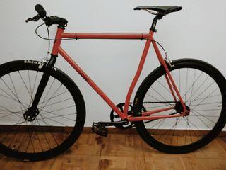 Bicicleta Fixie Polo&Bike Rouge II