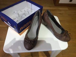 Zapatos color camel