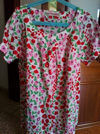 camisa fornarina flores