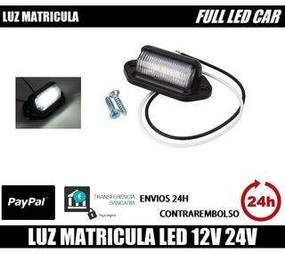 Luz De Matricula Led para: Furgón, Camión, etc.