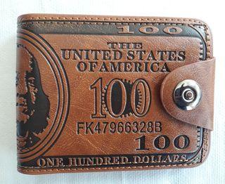 Cartera d dólar para caballero (a estrenar)
