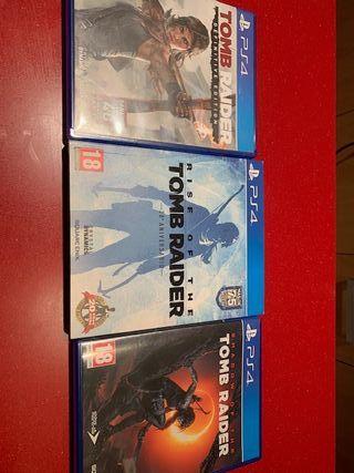colección TOMB RAIDER (PS4)