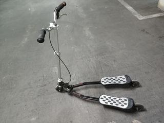 patín de 3 ruedas
