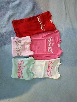 camisetas benetton