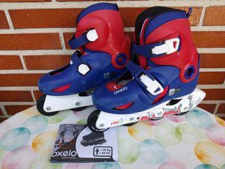 Set patines infantil