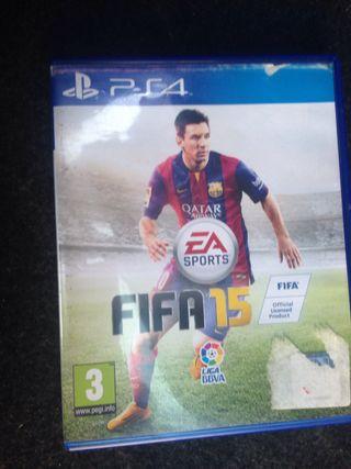 CAMBIO FIFA 15 PS4 x JUEGOS PSP/DS