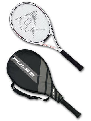 Raqueta de tenis grafito Titanium Dunlop Pulse Tou
