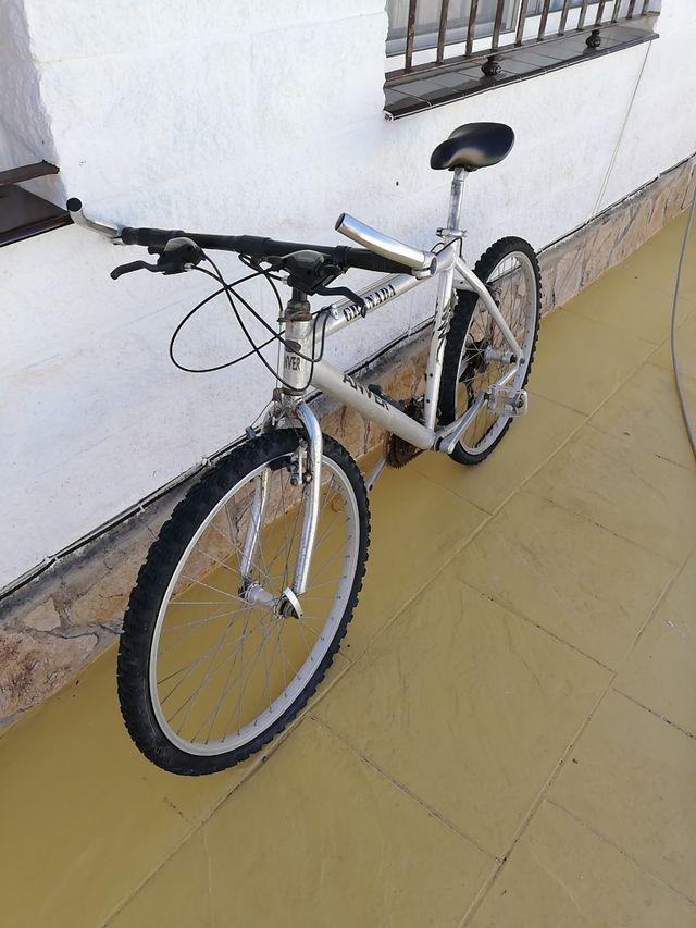 BICICLETA CUADRO DE ALUMINIO