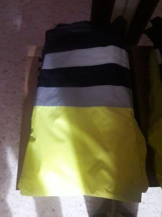 pantalon de trabajo fluorescente