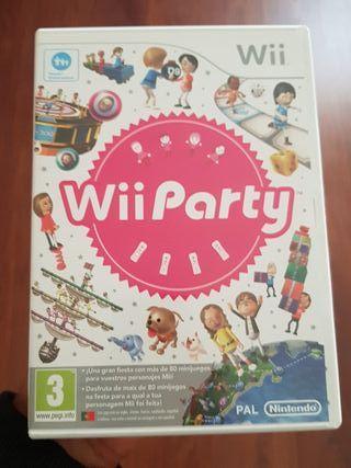 juego de la Wii!! Wii party