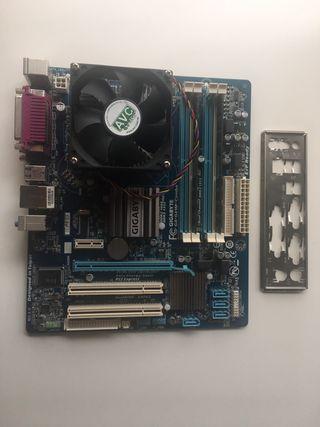 Placa Base ga-g41m-combo + micro e8400 + 8 gb ddr3