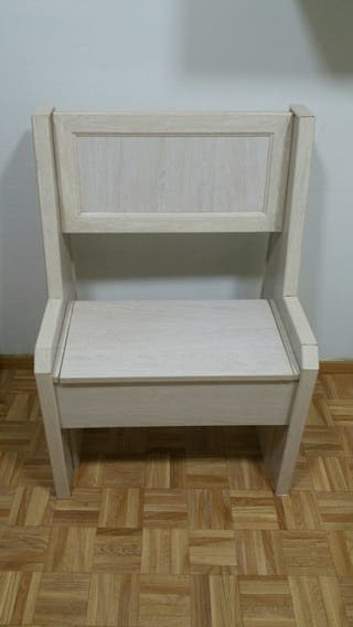 Banco mueble madera