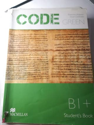code green b1+ inglés