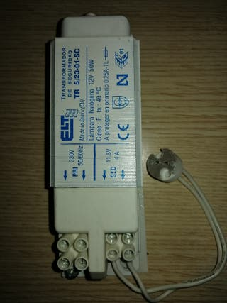 transformadores para bombillas halogenas