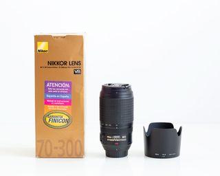 Objetivo Nikon 70-300 f/4,5-5,6 AF-S VR