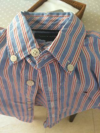 Camisa Tommy Y DP talla 4 años