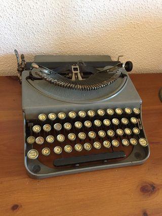Maquinas de escribír
