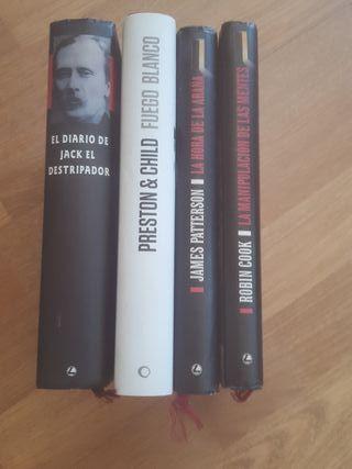 Novelas de Terror y Suspense