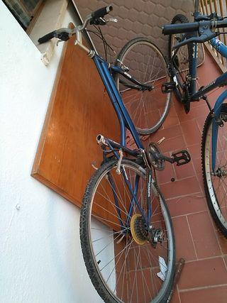 bicicleta usadas las dos entran en precio