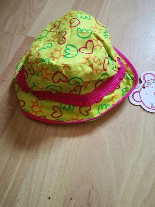 gorra bebe talla 12 meses marca losan nueva