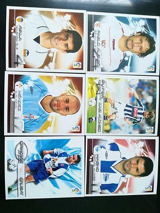Cromos Superliga de Estrellas 2002 2003