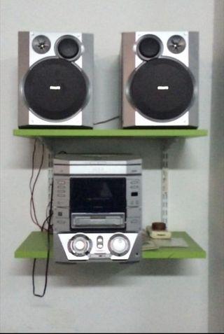 Equipo de música Philips