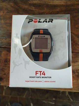 Pulsómetro polar FT4