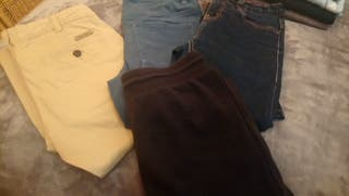4 Pantalones de niño talla 10
