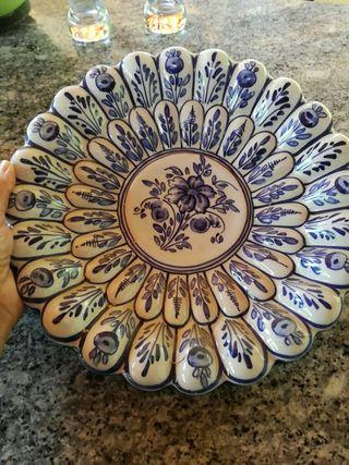 plato decorativo Talavera