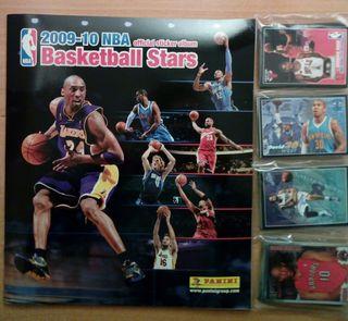 2009-10 BASKETBALL NBA PANINI ALBUM VACIO+CROMOS