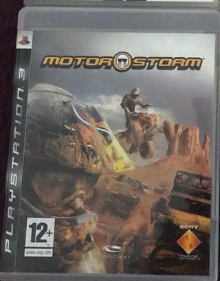 juego motor storm ps3